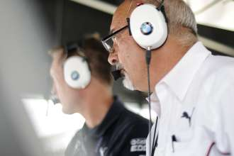 24.07.2014 to 25.07.2014, Tudor United Sportscar Championship 2014, Brickyard Grand Prix, Indianapolis Motor Speedway, Indianapolis, Indiana (USA). Bobby Rahal (USA), Team Manager, BMW Team RLL. BMW Z4 GTE. This image is Copyright free for editorial use © BMW AG