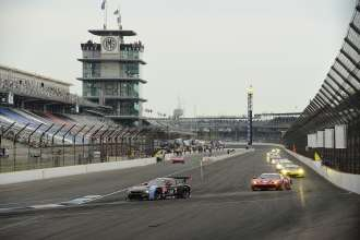 24.07.2014 to 25.07.2014, Tudor United Sportscar Championship 2014, Brickyard Grand Prix, Indianapolis Motor Speedway, Indianapolis, Indiana (USA). Bill Auberlen (USA), Andy Priaulx (GBR), No 55, BMW Team RLL, BMW Z4 GTE. This image is Copyright free for editorial use © BMW AG