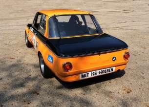 BMW ALPINA 2002ti Returns to the Track. (08/2014)