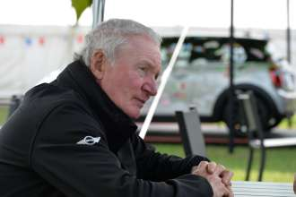 Paddy Hopkirk at the International Mini Meeting 2014. (08/2014)