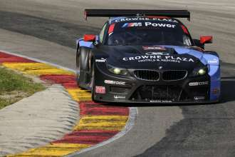 08.08.2014 to 10.08.2014, Tudor United Sportscar Championship 2014, Continental Tire Road Race Showcase, Road America, Elkhart Lake, WI (USA). Bill Auberlen (USA), Andy Priaulx (GBR), No 55, BMW Team RLL, BMW Z4 GTE. This image is Copyright free for editorial use © BMW AG