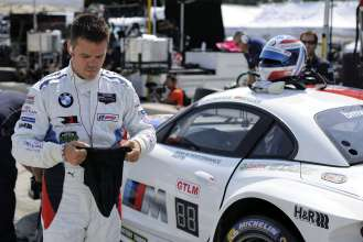 08.08.2014 to 10.08.2014, Tudor United Sportscar Championship 2014, Continental Tire Road Race Showcase, Road America, Elkhart Lake, WI (USA). Dirk Müller (DEU), No 56, BMW Team RLL, BMW Z4 GTE. This image is Copyright free for editorial use © BMW AG