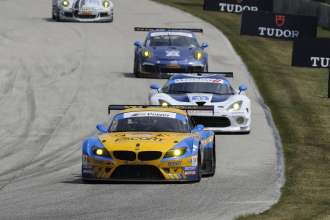08.08.2014 to 10.08.2014, Tudor United Sportscar Championship 2014, Continental Tire Road Race Showcase, Road America, Elkhart Lake, WI (USA). Dane Cameron (USA), Markus Palttala (FIN), No 94, Turner Motorsports, BMW Z4. This image is Copyright free for editorial use © BMW AG