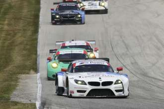 08.08.2014 to 10.08.2014, Tudor United Sportscar Championship 2014, Continental Tire Road Race Showcase, Road America, Elkhart Lake, WI (USA). Dirk Müller (DEU), John Edwards (USA), No 56, BMW Team RLL, BMW Z4 GTE. This image is Copyright free for editorial use © BMW AG