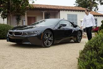 On August 15, 2014 during the Pebble Beach Concours d'Elegance, the world's premier celebration of the automobile, renowned Chef Thomas Keller was among the first exclusive owners to take delivery of the all-new BMW i8, a revolutionary plug-in hybrid sports vehicle, at the BMW Villa in Pebble Beach, CA.