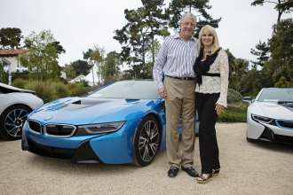 On August 15, 2014 during the Pebble Beach Concours d'Elegance, the world's premier celebration of the automobile, Barry Klarberg, Founder, CEO, Monarch Business and Wealth Management, was among the first exclusive owners to take delivery of the all-new BMW i8, a revolutionary plug-in hybrid sports vehicle, at the BMW Villa in Pebble Beach, CA.