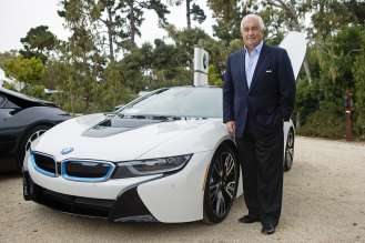 On August 15, 2014 during the Pebble Beach Concours d'Elegance, the world's premier celebration of the automobile, Roger Penske, Roger Penske, Chairman of Penske Corporation, Penske Automotive Group and Team Penske, was among the first exclusive owners to take delivery of the all-new BMW i8, a revolutionary plug-in hybrid sports vehicle, at the BMW Villa in Pebble Beach, CA.
