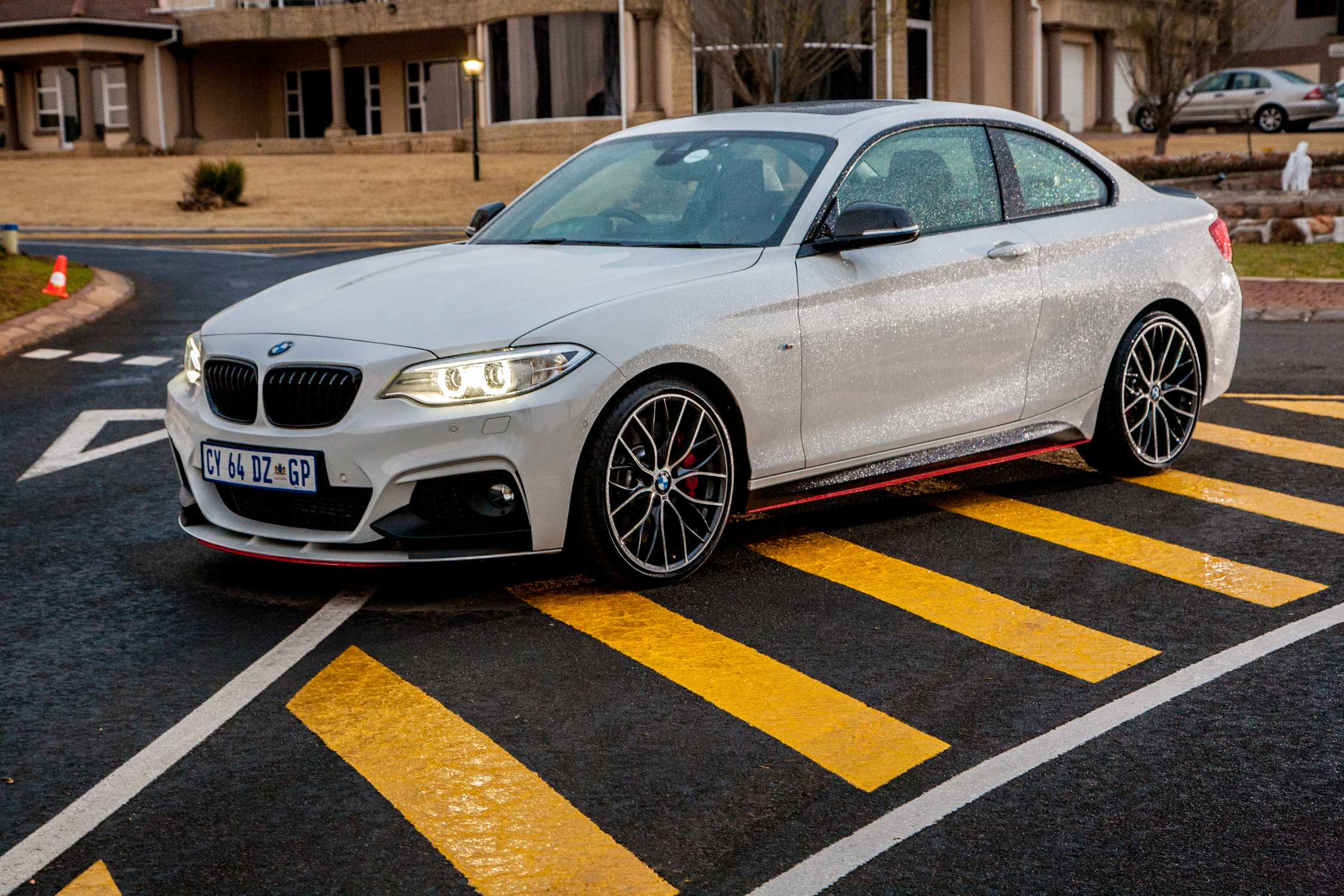 the bmw 2 series coupe m performance parts (08 2014)