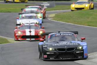 22.08.2014 to 24.08.2014, Tudor United Sportscar Championship 2014, Oak Tree Grand Prix at VIR, Virginia International Raceway, Danville, VA (USA). Bill Auberlen (USA), Andy Priaulx (GBR), No 55, BMW Team RLL, BMW Z4 GTE. This image is Copyright free for editorial use © BMW AG