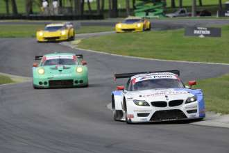 22.08.2014 to 24.08.2014, Tudor United Sportscar Championship 2014, Oak Tree Grand Prix at VIR, Virginia International Raceway, Danville, VA (USA). Dirk Müller (DEU), John Edwards (USA), No 56, BMW Team RLL, BMW Z4 GTE. This image is Copyright free for editorial use © BMW AG