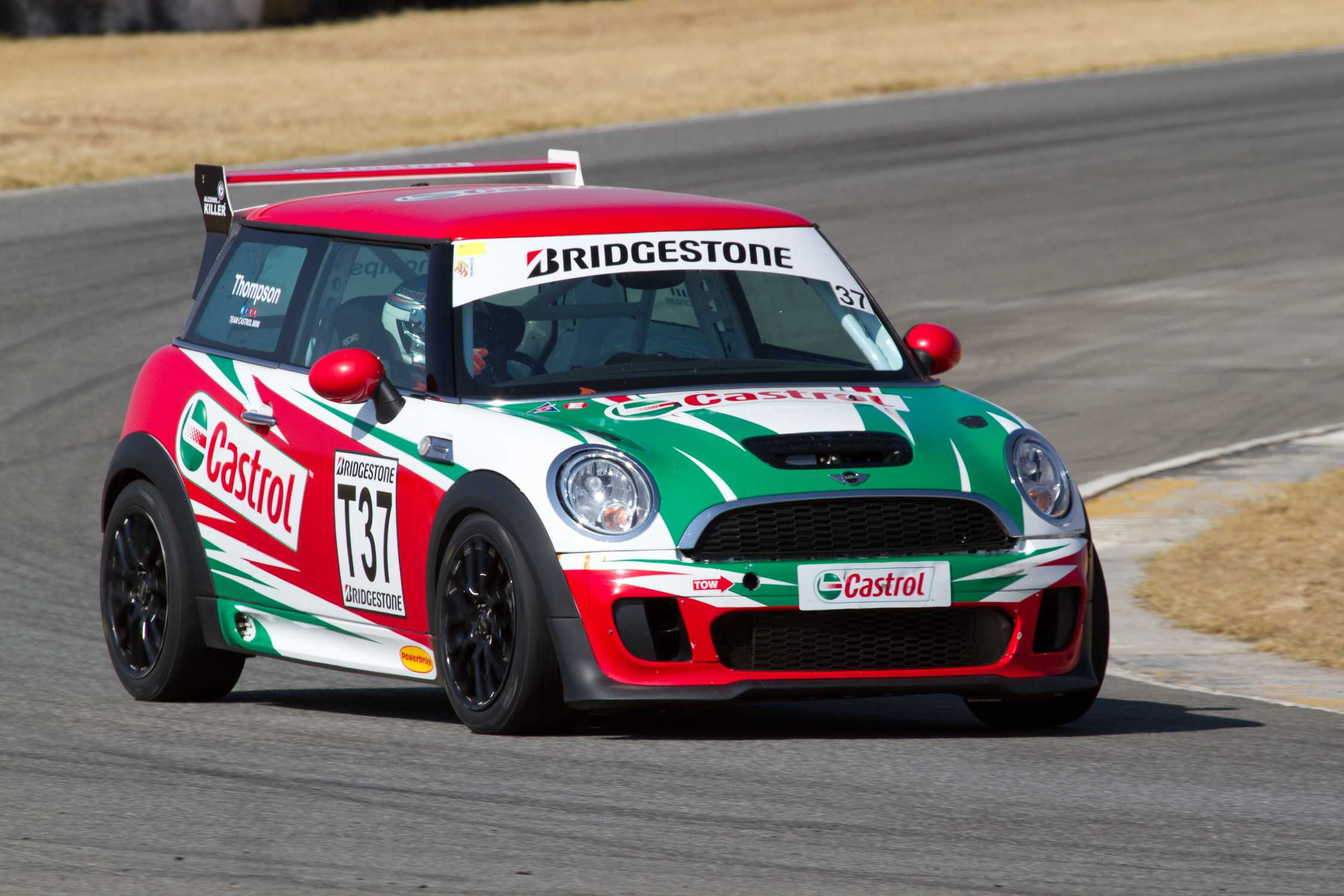 Castrol mini john cooper works team fired up for killarney for South motors bmw mini