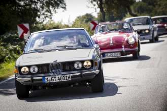 BMW Group Classic auf der Rallye Hamburg-Berlin 2014, (08/2014)