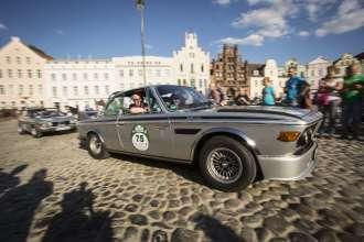 BMW Group Classic auf der Rallye Hamburg-Berlin 2014, BMW 3,0 CSL, (08/2014)