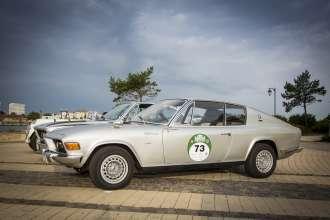 BMW Group Classic auf der Rallye Hamburg-Berlin 2014, BMW 2002 GT4 Frua, (08/2014)