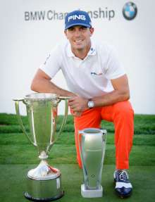 2014 BMW Championship winner Billy Horschel at Cherry Hills Country Club in Cherry Hills Village, CO on Sunday, September 7, 2014. Horschel finished with a final round of 14 under to capture the victory.
