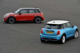 MINI Cooper S 5 door and MINI Cooper SD 5 door. (09/2014)
