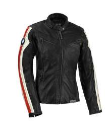 BMW Motorrad rider equipment 2015 Ride. Club leather jacket, ladies'. (09/2014)