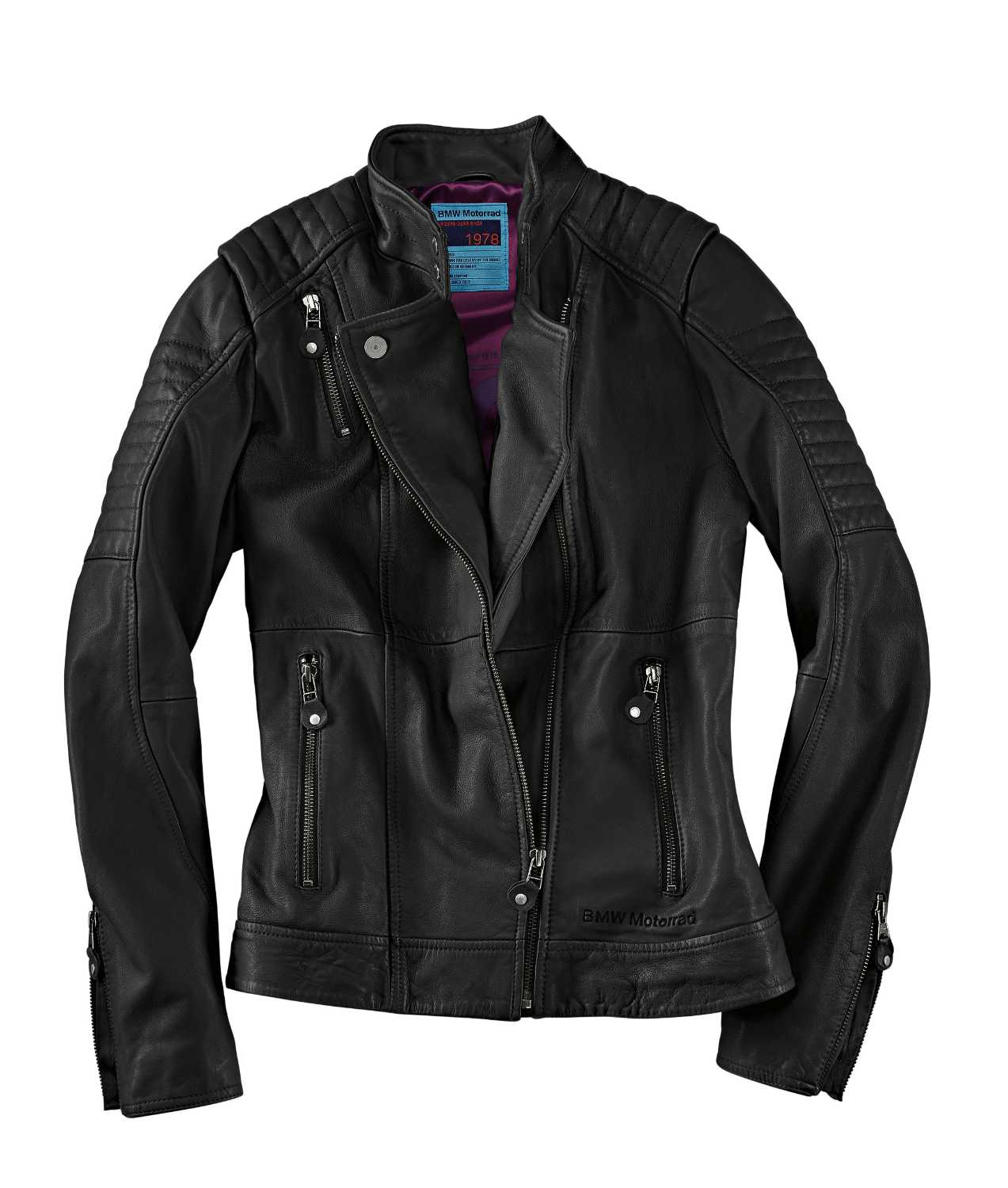 bmw motorrad rider equipment 2015 style roadster collection roadster women 39 s leather jacket. Black Bedroom Furniture Sets. Home Design Ideas