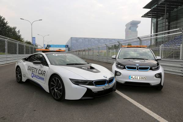Bmw Is Official Vehicle Partner Of The Fia Formula E