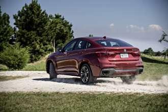 Offroad BMW X6 (10/2014).