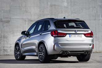 The new BMW X5 M.(10/2014)