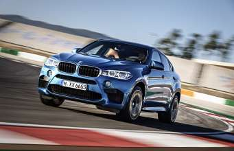 The new BMW X6 M.(10/2014)