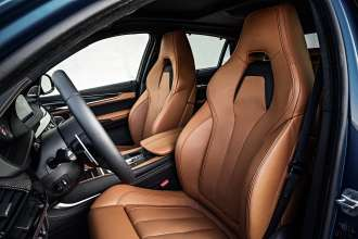 The new BMW X6 M. Exclusive, electrically operated M Sports Seats.(10/2014)