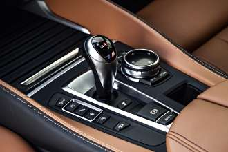 The new BMW X6 M. M Gearshift Lever.(10/2014)