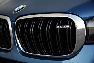 The new BMW X6 M. Double-Bar Kidney Grille.(10/2014)