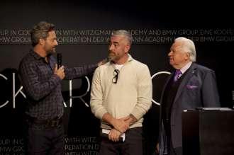 ECKART 2014, BMW Museum: Jon Rose (ECKART für Kreative Verantwortung und Genuss),  Alex Atala (ECKART Preisträger 2013), Eckart Witzigmann (v. l. n. r.) (10/2014)