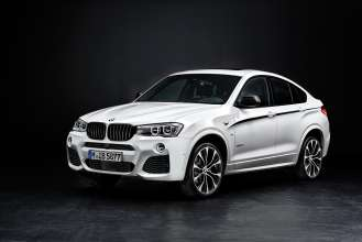 BMW X4 with M Performance Parts (11/2014).