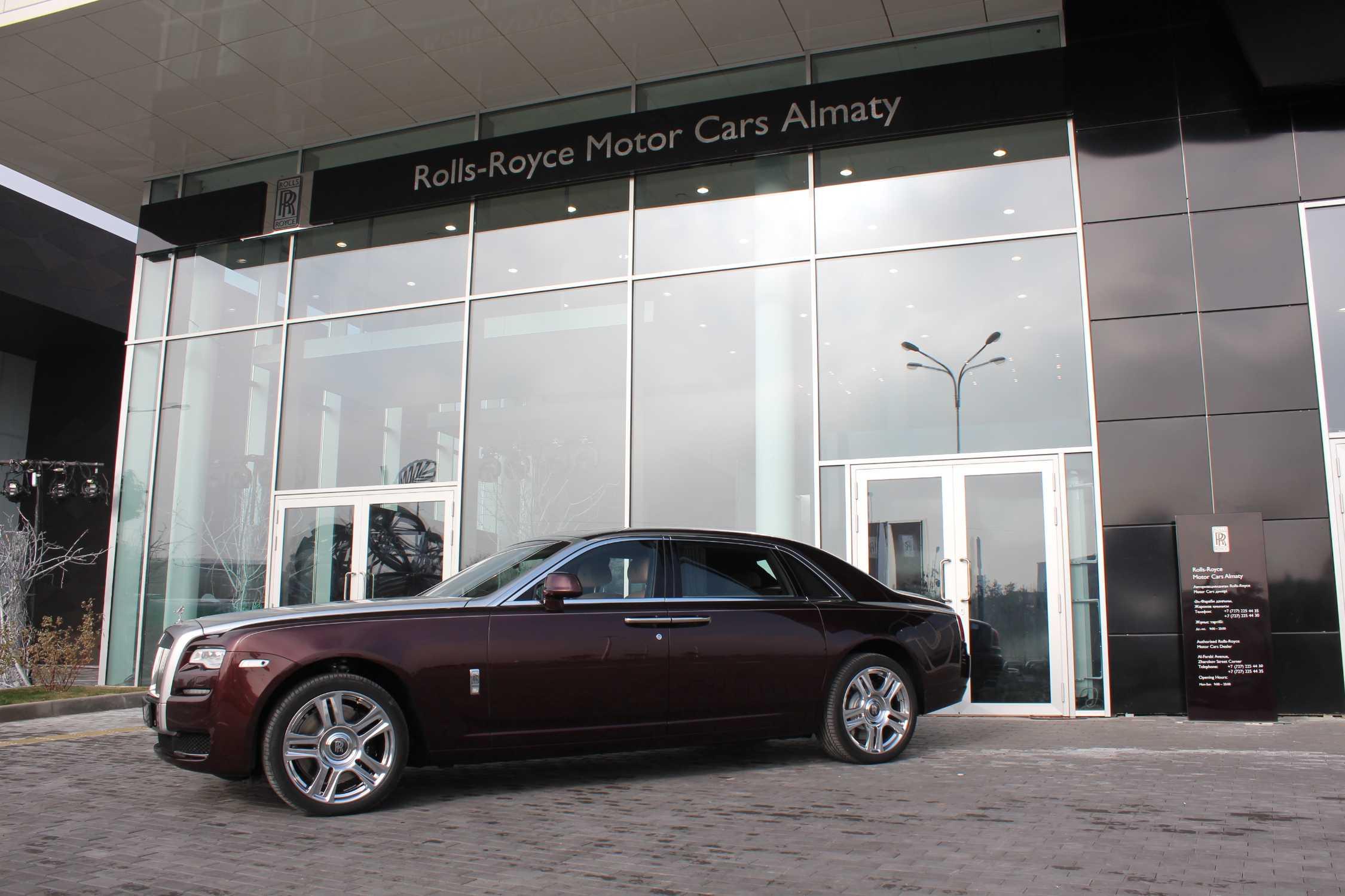 Rolls Royce Dealers >> Rolls Royce Motor Cars Arrives In Kazakhstan