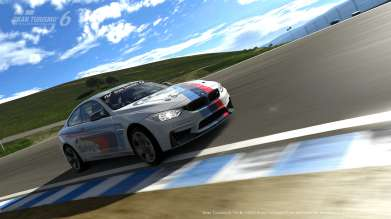 The BMW M Performance M4 Safety Car replica becomes available for PlayStation's Gran Turismo 6. (11/2014)