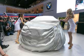 BMW Stand Motor Show 2014. (11/2014)