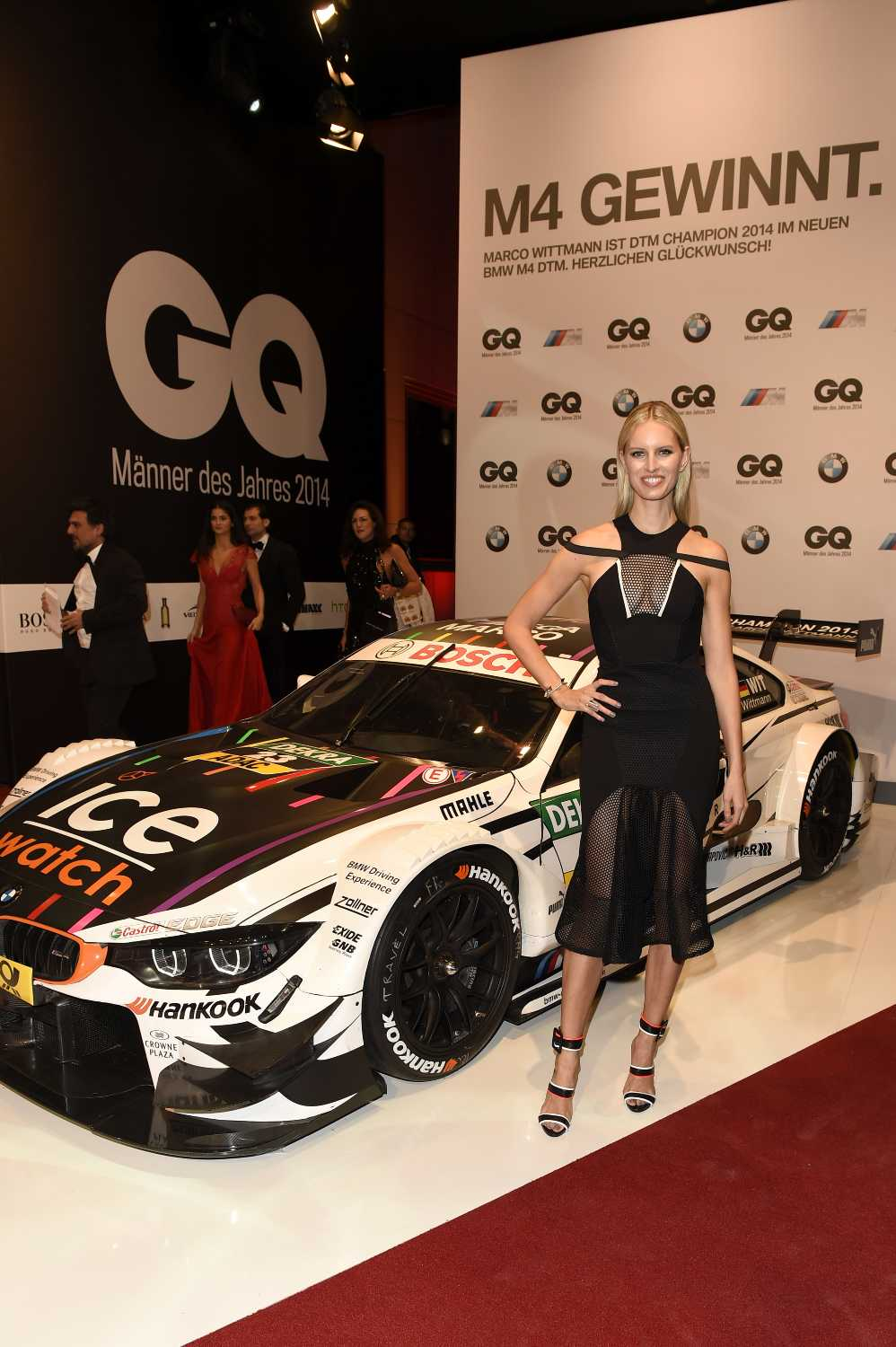 Gq Men Of The Year Awards 2014 Bmw Official Partner Third Year