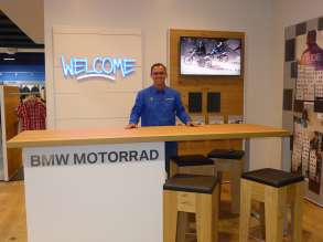 Bobby Luhm, General Manager, BMW Motorcycles of Huntsville. (11/2014)