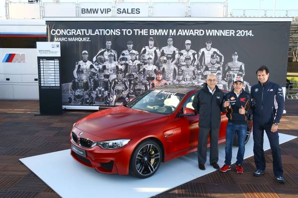 BMW M Award MGP Marquez.