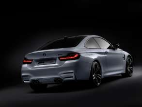 BMW M4 Concept Iconic Lights, BMW Organic Light, Sport Modus (01/2015)