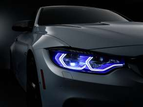 BMW M4 Concept Iconic Lights, Daytime Running Light and Laserlight (01/2015)