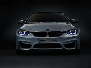 BMW M4 Concept Iconic Lights, Daytime Running Light and Indicator  (01/2015)