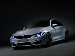 BMW M4 Concept Iconic Lights, Daytime Running Light (01/2015)