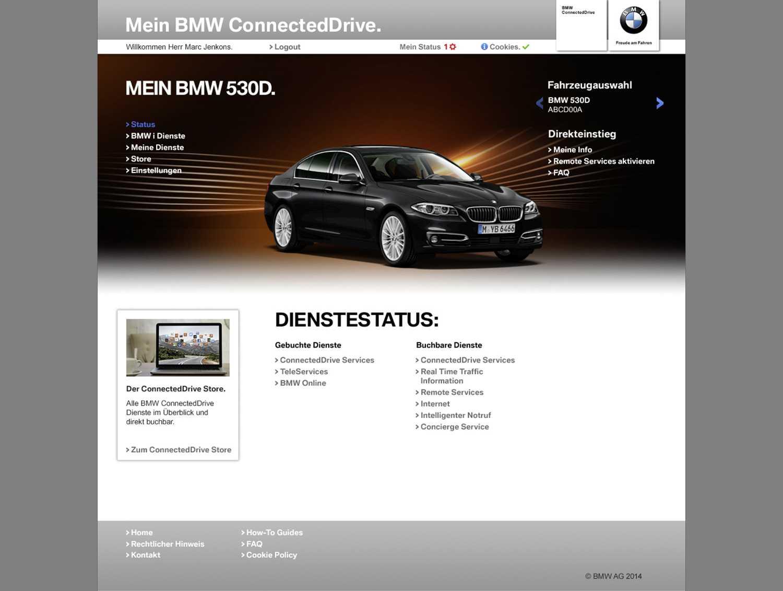 bmw connecteddrive portal   mein connecteddrive kundenportal, bmw