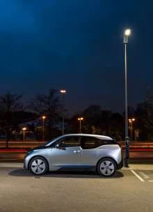 Pioneering pilot project: Light and Charge street light (11/2014)