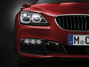 The new BMW 6 Series Convertible - Exterior, Adaptive LED Headlight. (12/2014)