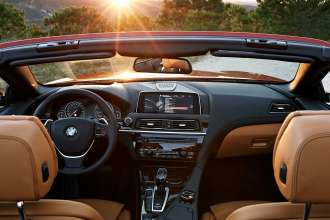 The new BMW 6 Series Convertible - Interior. (12/2014)