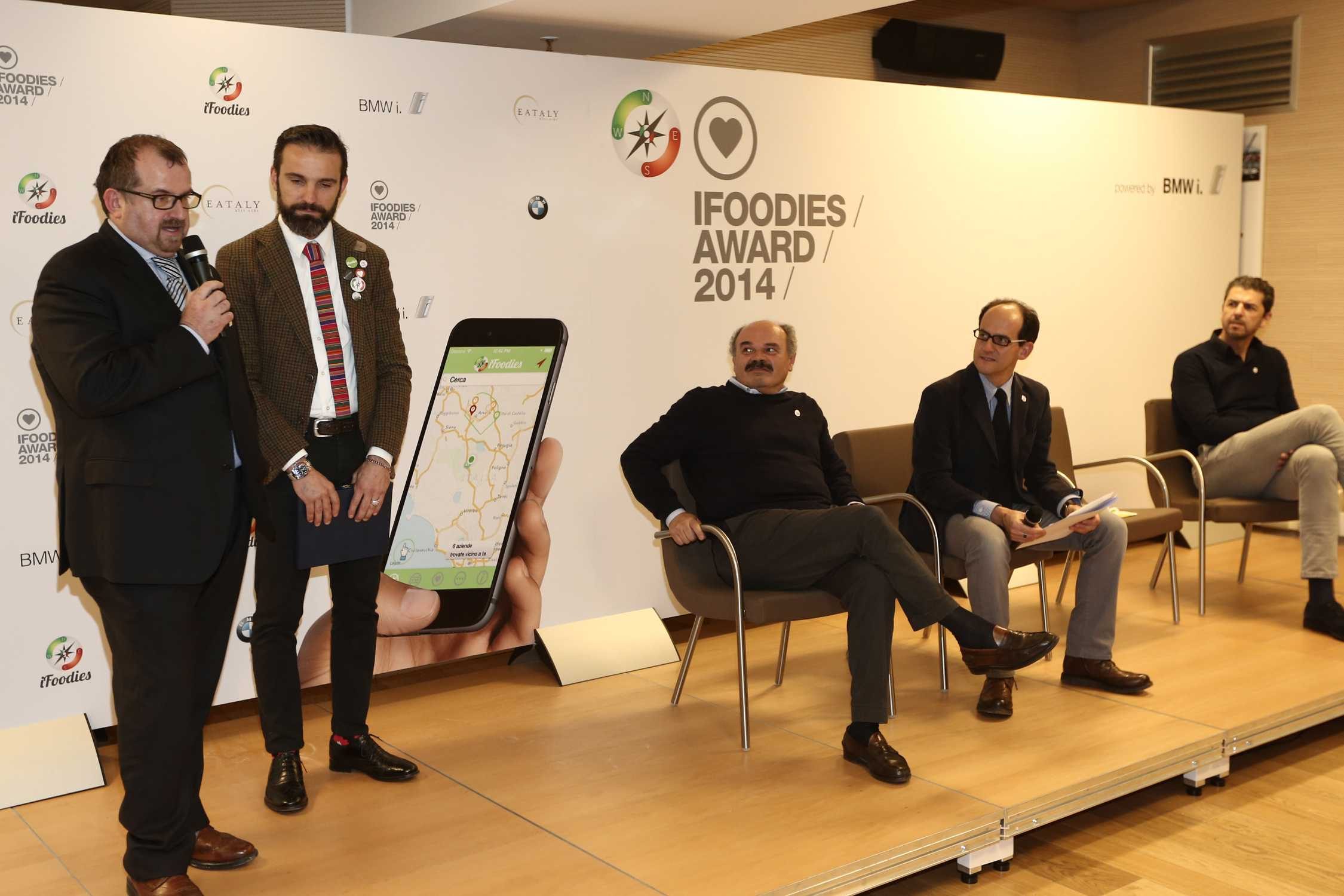 Progetto ifoodies powered by bmw i eataly milano 26 for Eataly milano eventi