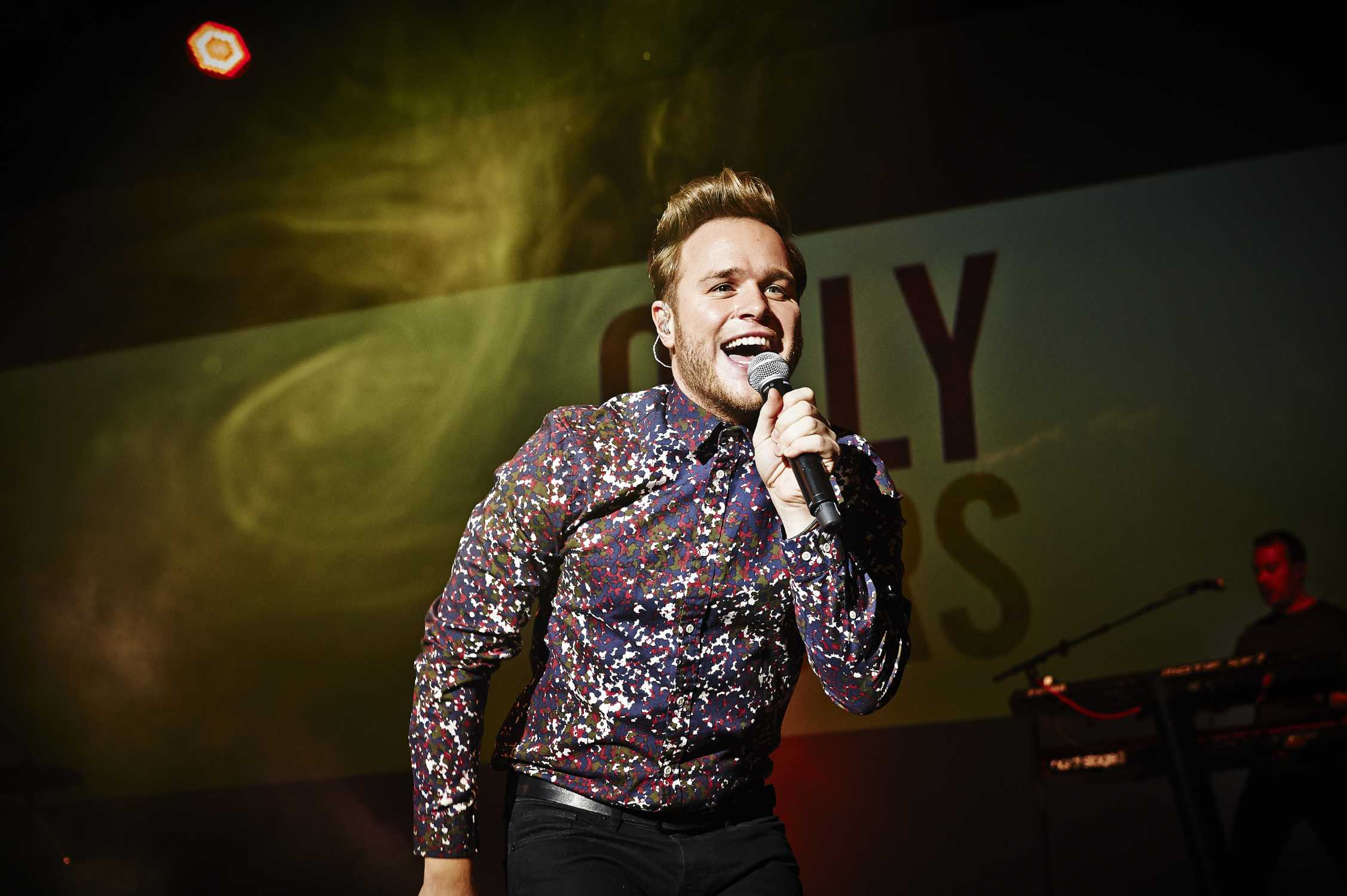 Olly Murs Premiered His New Album Live At Bmw Welt
