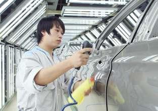BMW Brilliance Automotive (BBA), Werk Dadong/Shenyang, China – Fertigung der BMW 5er Reihe (Langversion) (12/2014).