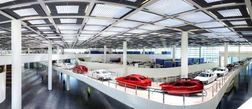 BMW Brilliance Automotive (BBA), Werk Tiexi/Shenyang, China -  Zentralgebäude (12/2014)