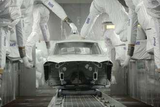 BMW Brilliance Automotive (BBA), Werk Tiexi/Shenyang, China - Lackiererei (12/2014)